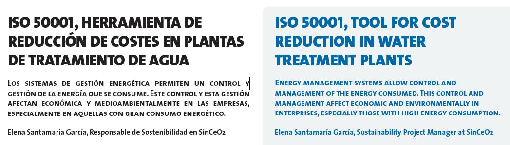 ISO50001 estaciones depuración