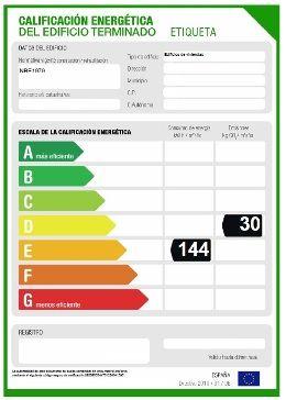 Certificado de eficiencia energética