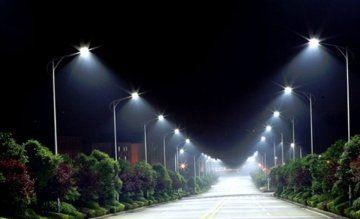 iluminación eficiente parques