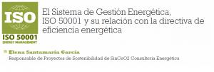 Artículo ISO 50001