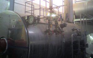 Corrosión de caldera