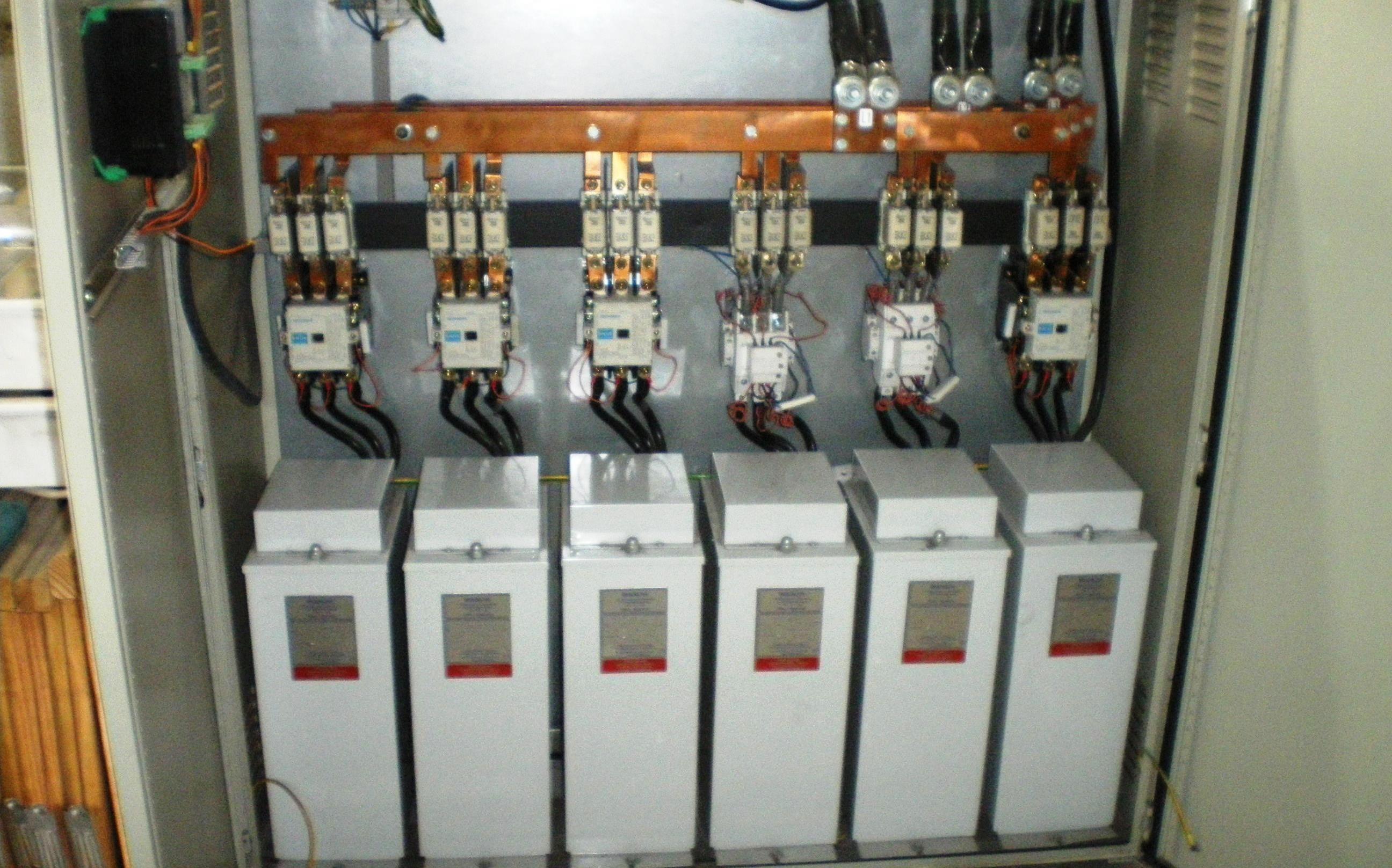 Eliminación de energía reactiva con batería de condensadores. - SinCeO2 cd984fa8f46d